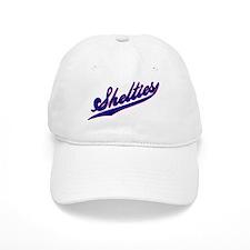 Shelties BASEBALL SCRIPT Baseball Cap