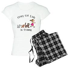 Crazy Cat Lady In Training Pajamas
