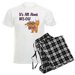 It's All About Me Cat Men's Light Pajamas