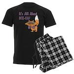 It's All About Me Cat Men's Dark Pajamas