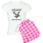 Stressed Cat Women's Light Pajamas