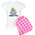 Cat Bath II Women's Light Pajamas