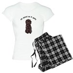 Good Affenpinscher Women's Pajamas