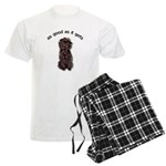 Good Affenpinscher Men's Pajamas