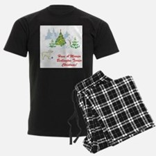 Bedlington Terrier Christmas Pajamas