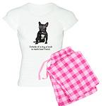 Best Friend French Bulldog Women's Light Pajamas