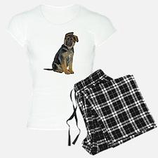 German Shepherd Puppy Pajamas