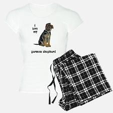 German Shepherd Love Pajamas