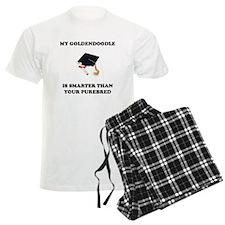 Goldendoodle Smarter Pajamas