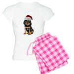 Gordon Setter Christmas Women's Light Pajamas