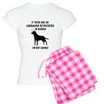 Black Labs In Heaven Women's Light Pajamas