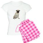 Fawn Pug Women's Light Pajamas