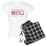 St bernard T-Shirt / Pajams Pants