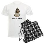 I Love My Shih Tzu Men's Light Pajamas