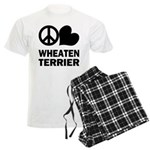 Wheaten Terrier Men's Pajamas