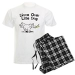 Move Over Little Dog Men's Light Pajamas
