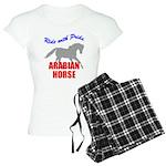Ride With Pride Arabian Horse Women's Light Pajama