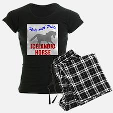 Ride With Pride Icelandic Hor Pajamas