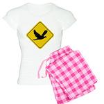 Dove Crossing Sign Women's Light Pajamas