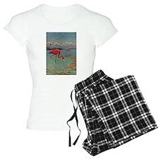 Flamingo Art Pajamas