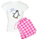 Get Happy Dancing Penguin Women's Light Pajamas