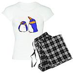Cute Penguins Cartoon Women's Light Pajamas