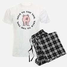 Talk To The Tail Pig Pajamas
