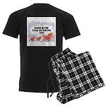 1971 Year Of The Pig Men's Dark Pajamas