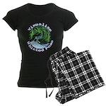 Visualize Whirled Peas Women's Dark Pajamas
