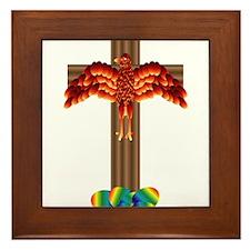 Phoenix Easter Eggs Framed Tile