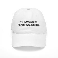 With Marlene Baseball Cap