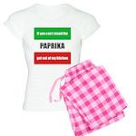 Paprika Lover Women's Light Pajamas