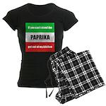 Paprika Lover Women's Dark Pajamas