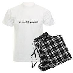 Go Lutefisk Yourself Men's Light Pajamas