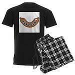 Oktoberfest Brat Men's Dark Pajamas