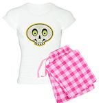 Skull Halloween Women's Light Pajamas