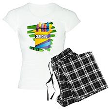 Crayons Pajamas