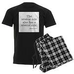 The Reverse Side Men's Dark Pajamas