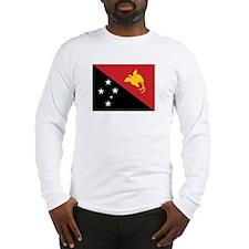 Papua Flag Long Sleeve T-Shirt