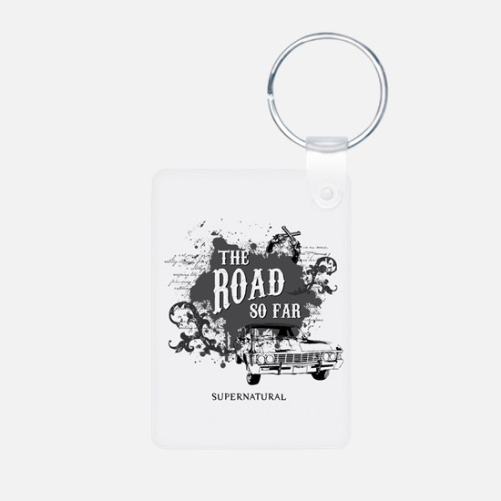 SUPERNATURAL The Road black Keychains