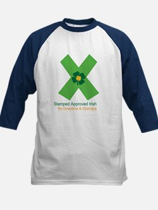 Approved Irish/Grandparents Kids Baseball Jersey