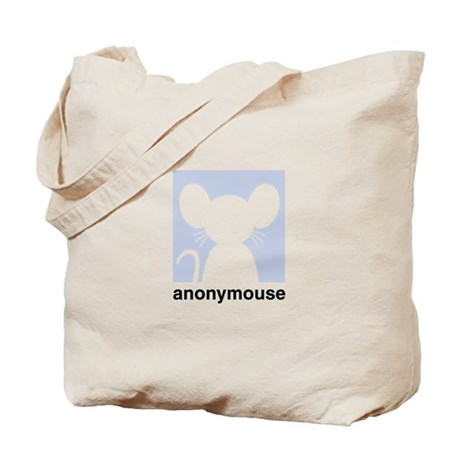 Cute anonymouse chat icon Tote Bag