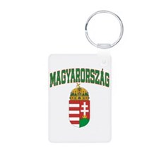 Hungary Aluminum Photo Keychain