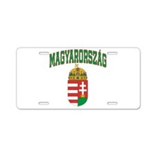 Hungary Aluminum License Plate