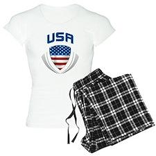 Crest USA blue / grey Pajamas
