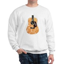 Acoustic Guitar (worn look) Sweatshirt