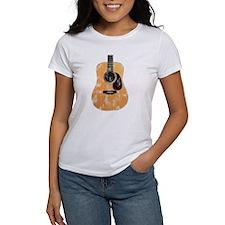Acoustic Guitar (worn look) Tee