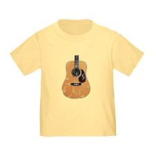 Acoustic Guitar (worn look) T
