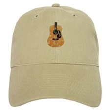 Acoustic Guitar (worn look) Cap
