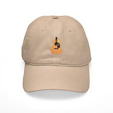 Acoustic Guitar (worn look) Hat